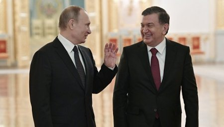 Переговоры Путина и Мирзиеева: инвестпроекты помогут в борьбе с терроризмом